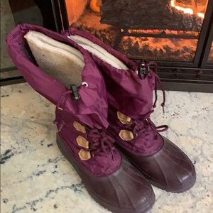 Sorel Winter Boots Womens Size 10 Gently Worn!